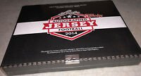 2014 LEAF AUTOGRAPHED FOOTBALL JERSEY SEALED BOX: TOM BRADY/WALTER PAYTON AUTO ?