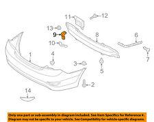 HYUNDAI OEM 12-17 Accent Rear Bumper-Impact Bar Upper Bracket 866331R010