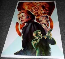 X-Files Poster - Carlos Venezuela - Limited Edition of 110 - GID