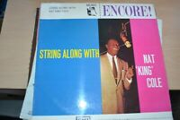 NAT KING COLE    STRING ALONG WITH      LP    EMI RECORDS  ENC 102
