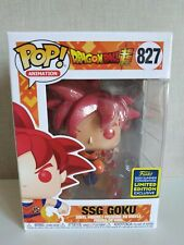 Funko Pop SSG Goku Dragon Ball Super SDCC 2020 Exclusive # 827 - VER FOTOS