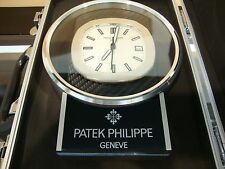 Patek Philippe  Desk Clock DISPLAY, Swiss, Quartz Movement very nice