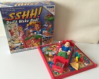 Tomy Family Fun Electronic Board Game Sshh Don't Wake Dad! 95% Complete. VG Cond