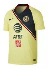 4fb1ff49228 $90 Nike Club America Home Soccer Jersey 2018/19 Men's MEDIUM Yellow  918988-707