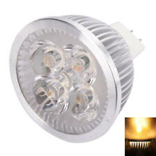 5x LED Spotlight Bulb 4W MR16 GU5.3 12V Warm White Spot Light Energy Saving