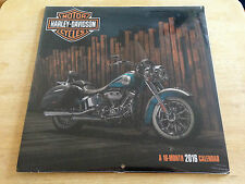 16-Month 2016 Genuine Harley-Davidson Wall Calendar