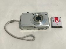 Sony Cyber-Shot DSC-W100 8.1MP Digital Camera Carl Zeiss Lens w/Battery -Working