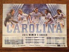 Carolina NCAAA Women Soccer Poster 2015