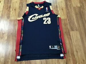 BOYS LARGE (14-16) - Vtg NBA Cleveland Cavaliers #23 James Reebok Sewn Jersey