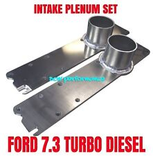FORD POWERSTROKE 7.3 CUSTOM INTAKE MANIFOLD SET BILLET ALUMINUM HIGH BOOST
