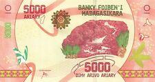Madagascar 5000 Ariary AU+