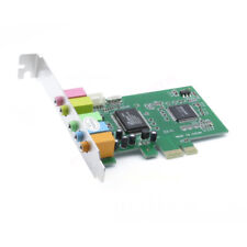 PCI Express PCI-E 5.1 Ch 6 Channel PCIE Audio Digital Sound Card Adapter New