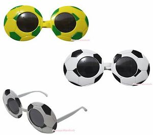 Sport World Cup Brazil Football Soccer Party Dress Up Glasses Unisex Costume Toy