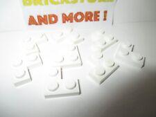 Lego - 8x Plaque plate modified corner 2x2 2420 White/Blanc/Weiss
