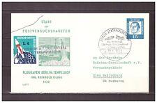 5324) GERMANY 1962 Deutsche Luftpost Raketen Zeppelin