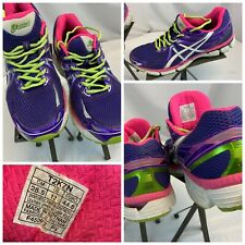 Asics GT-2000 Sz 12 Women Purple Running Shoes Mint Condition YGI F0S-160