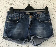 LTB Size S Blue Denim Comfort Shorts Hotpants Summer