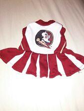 New listing Florida State University Seminoles Fsu Dog Cat Pet Cheerleader Dress~Xs~