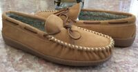 New Minnetonka Trevor Traditional Trapper Men's Cinnamon Leather Shoes Size 12