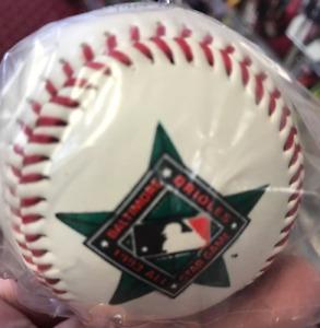 1993 Rawlings Official MLB All Star Game Baseball Ball Baltimore Orioles SEALED