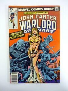 John Carter Warlord of Mars #11 Marvel Comics Bondage, Origin of Dejah VF 1977