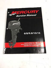 Mercury Mariner Service Shop Repair Manual 6 8 9.9 10 15 90-827242R02