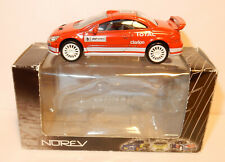 NOREV 3 INCHES 1/64 PEUGEOT 307 WRC N°5 300 CV 220 KM/H TOTAL CLARION in box