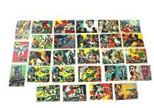 Vintage Original Batman Cards 1966 Lot Of 49