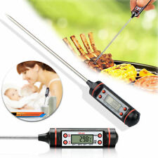 Digital Food Thermometer Probe Temperature Kitchen Cooking BBQ Turkey Meat UK