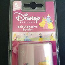 Disney Princess Self Adhesive Border Girls Bedroom Decor DIY 5 Metre Decofun