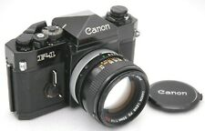 [EXC+5] CANON F-1 Late Model & FD 50mm F/1.4 S.S.C Lens SLR Film Camera Japan