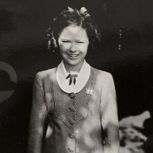 Shirley Temple Photo Teenage Candid Preteen Scarce Promo Mini Photo Outdoors