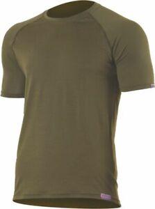 Lasting Merino T-Shirt Quido braungrün