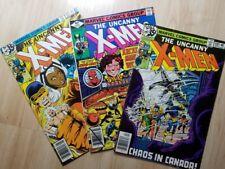 Uncanny X-Men #120, 117 & 123 (1979) 1st Alpha Flight!