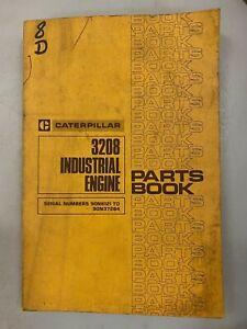 Caterpillar 3208 Industrial engine parts manual. Genuine Cat book.
