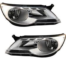 12-18 Volkswagen Tiguan Halogen Right Passenger Headlight Headlamp NSF