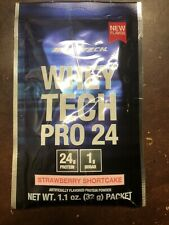 Lot Of 10 Packets - Bodytech Whey Tech Pro 24 Strawberry Shortcake Protein 6/20