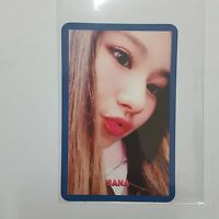 Twice SANA Official Photocard SIGNAL 4th Mini Album Blue Ver. 사나 K-pop