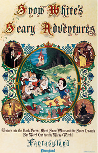 """Disney Parks Attraction Posters 12""""x18 - CHOOSE YOUR OWN (Buy 3 Get 1 Free)"""