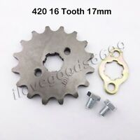 420 16Tooth 17mm ID Front Engine Sprocket For YCF Pitsterpro Pit Dirt Bikes