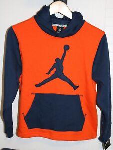 Nike Air Jordan Jumpman Boys Youth Therma Fit Hoodie Sweater Sweatshirt