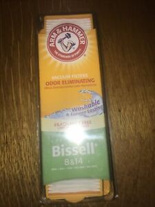 Arm & Hammer Bissell 8 & 14 Vacuum Filter - Odor Eliminating  - Free Shipping