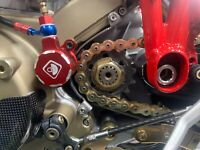 ducati 749 999 749S 999R monster s4rs stainless steel case saver / chain guard