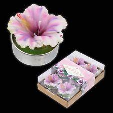 Botanical Garden Tealights - orchid, flower, purple, candle, t-light