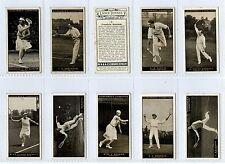 Full Set, Churchman, Lawn Tennis 1928 VG (Gy103-282)