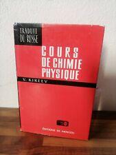 Kireev V. Cours De Chimie Physique Mir Moscou 1975