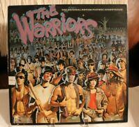 The Warriors Soundtrack LP A&M SP-4761 1979 Cover VG  Vinyl VG+ Orig Inner
