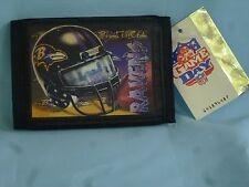 BALTIMORE RAVENS  Sublimation Logo TriFold Wallet  NEW!