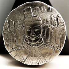 Fiji Der Kaiser TERRACOTTA ARMEE 2 Dollar Silber Münze 2018 Antik finish 5 oz