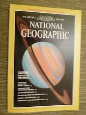 National Geographic- SATURN RIDDLES OF THE RINGS - JULY 1981